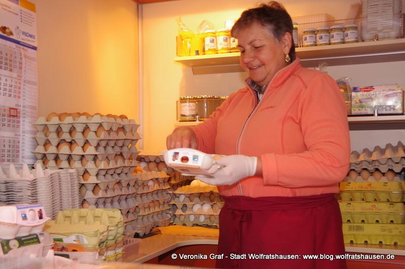 Verkäuferin vom Fischerhof in Hohenfurch