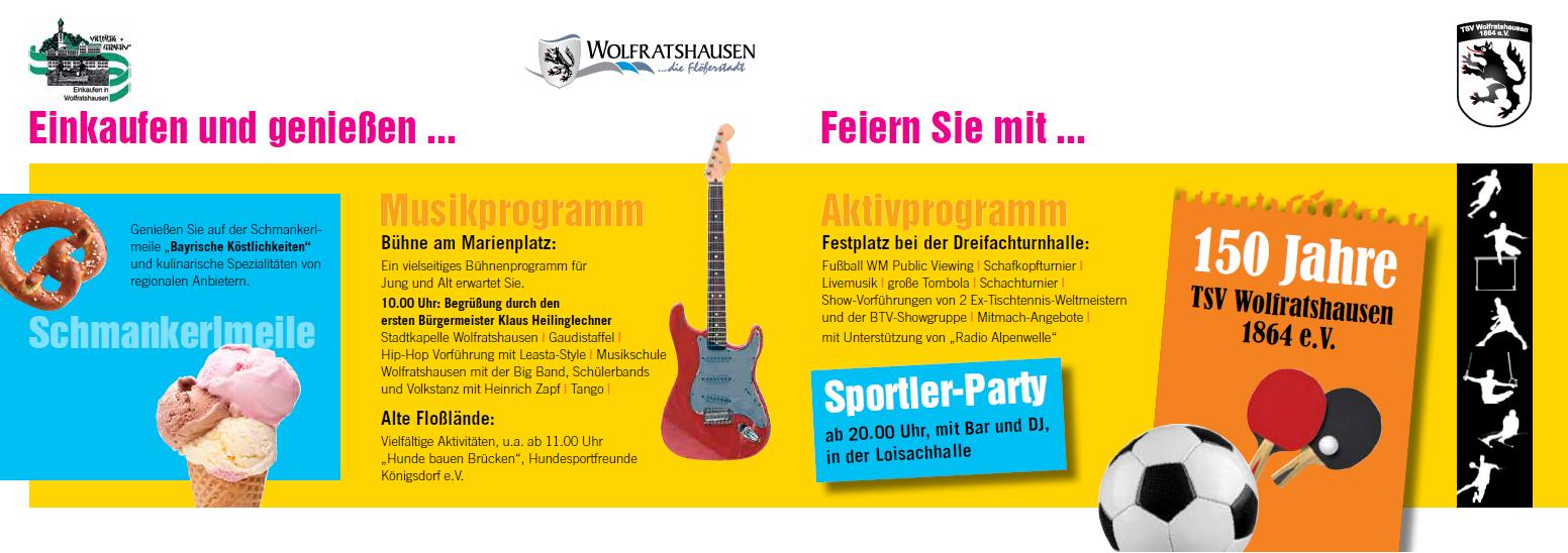 Bürgerfest Wolfratshausen, TSV Wolfratshausen