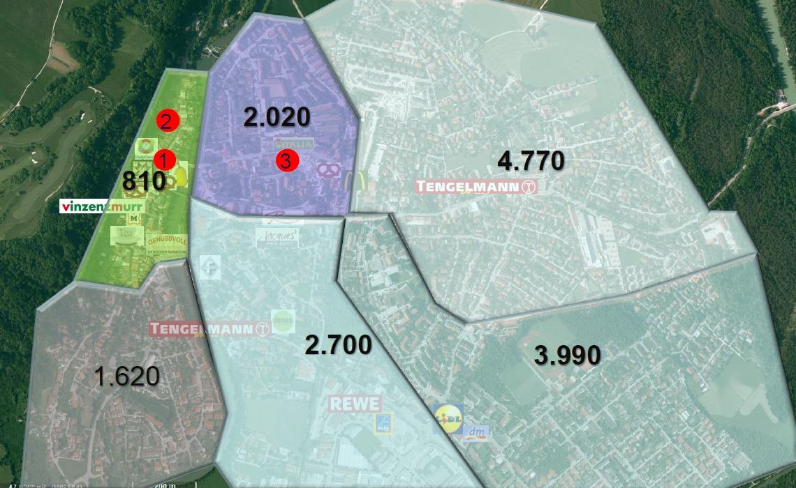 Bereiche für Bürgerladen Wolfratshausen