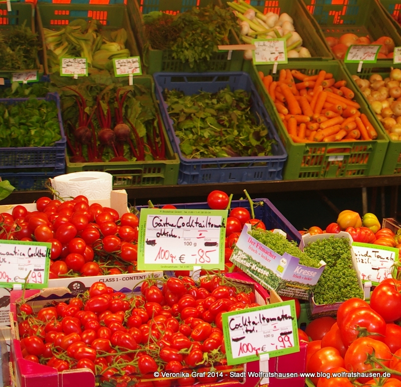 Grüner Markt Wolfratshausen