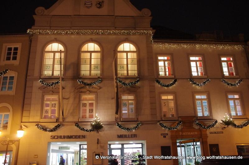 Musikalischer Adventskalender, Rathaus