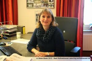 Claudia Holzer, Bürgermeisterbüro Stadt Wolfratshausen (c) Beate Mader www.blog.wolfratshausen.de