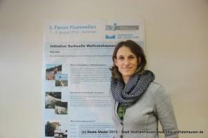 Gisela Gleißl, Stabsstelle Tourismus, Wirtschaftsförderung und Citymanagement Stadt Wolfratshausen (c) Beate Mader www.blog.wolfratshausen.de