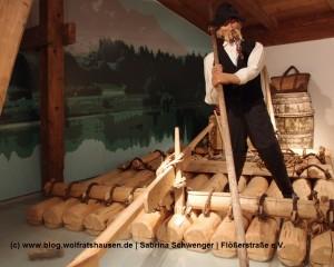 Das Flößermuseum in Lechbruck mit seinen liebevoll ausgestatteten Räumen feierte seinen 10. Geburtstag.