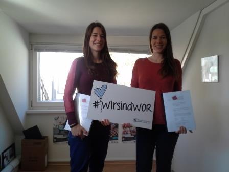Leonie & Sarah (c) Stadt Wolfratshausen