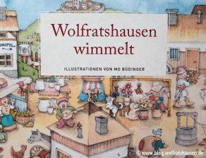 Das Wimmelbuch Wolfratshausen, 14,95 Euro.